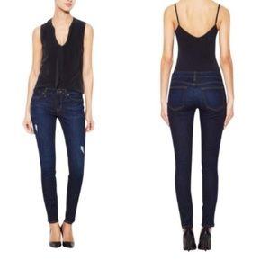 RICH & SKINNY Dark Rinse Heartbreak Jeans 28